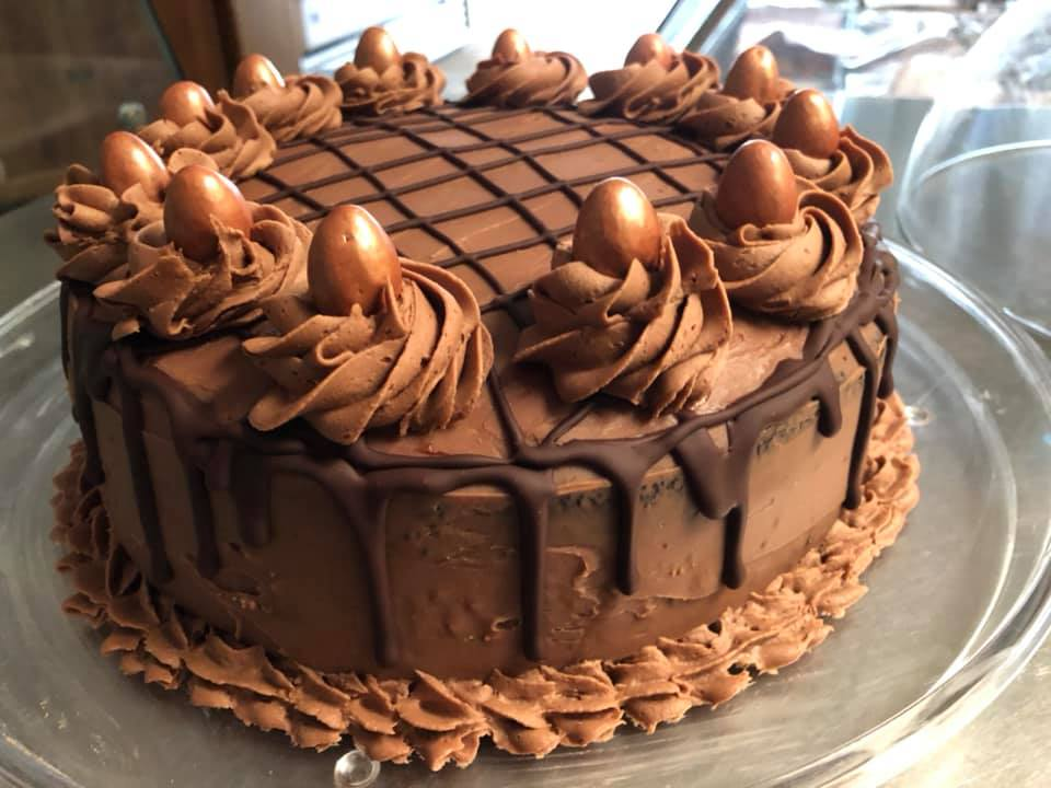 A delicious and fabulous-looking chocolate cake