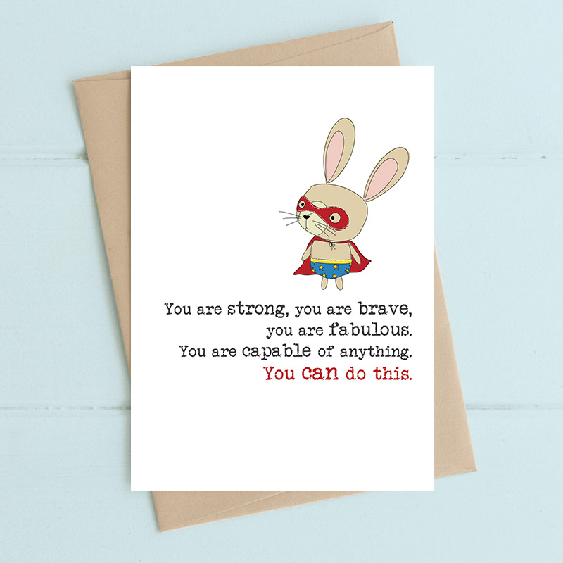 Brave Rabbit Card