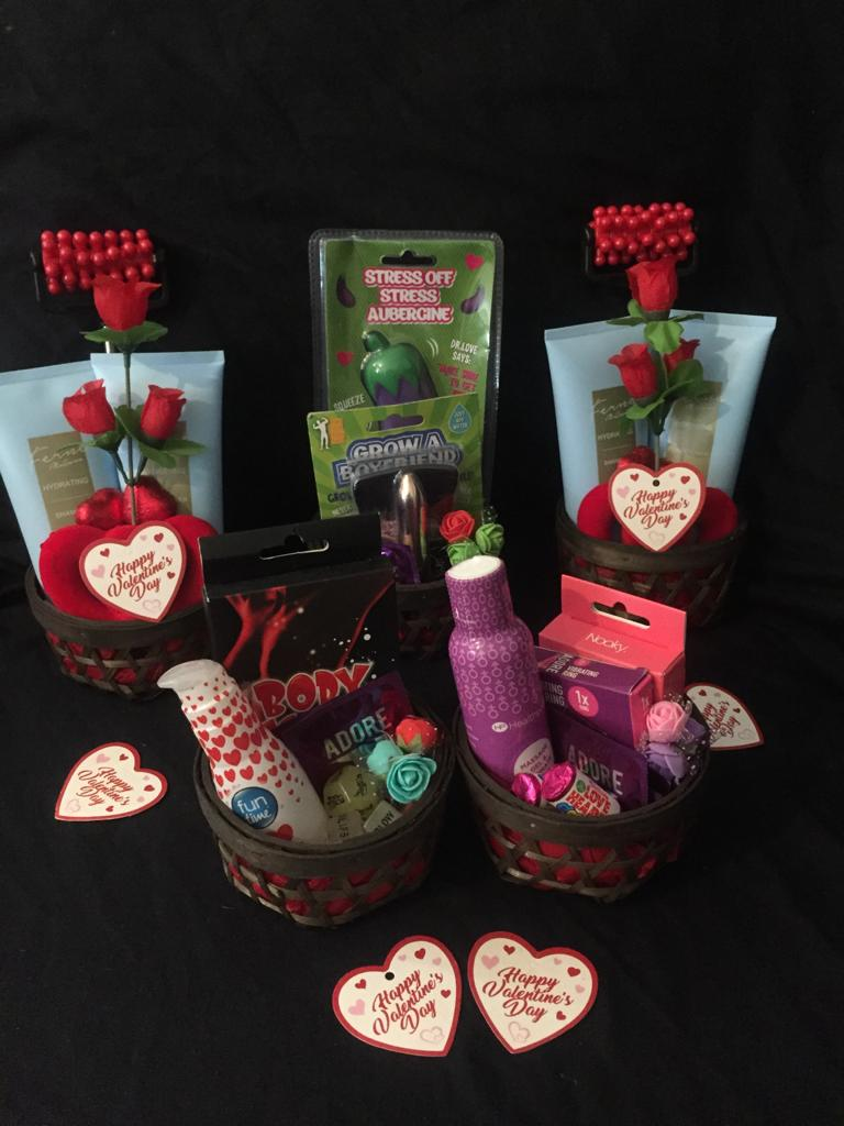 Valentines Mini Lovers Baskets