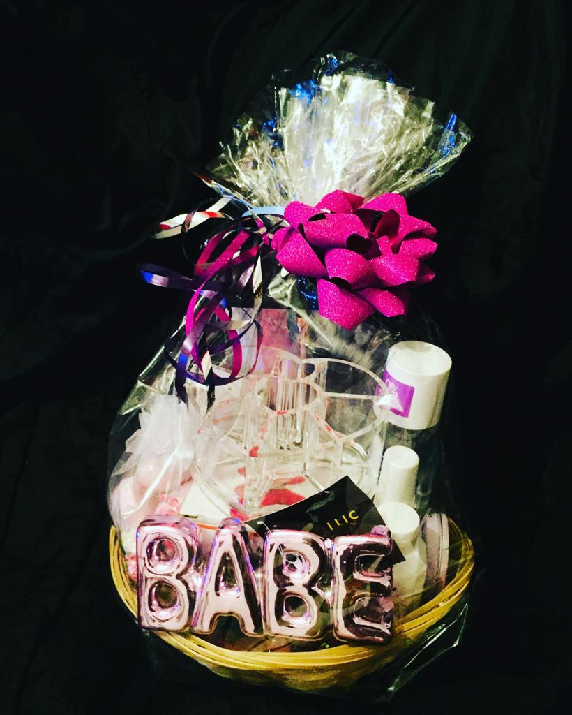 Personalised Gift baskets available on request!