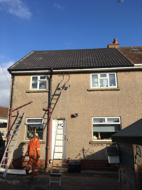 A new roof for old in Irvine, Ayrshire