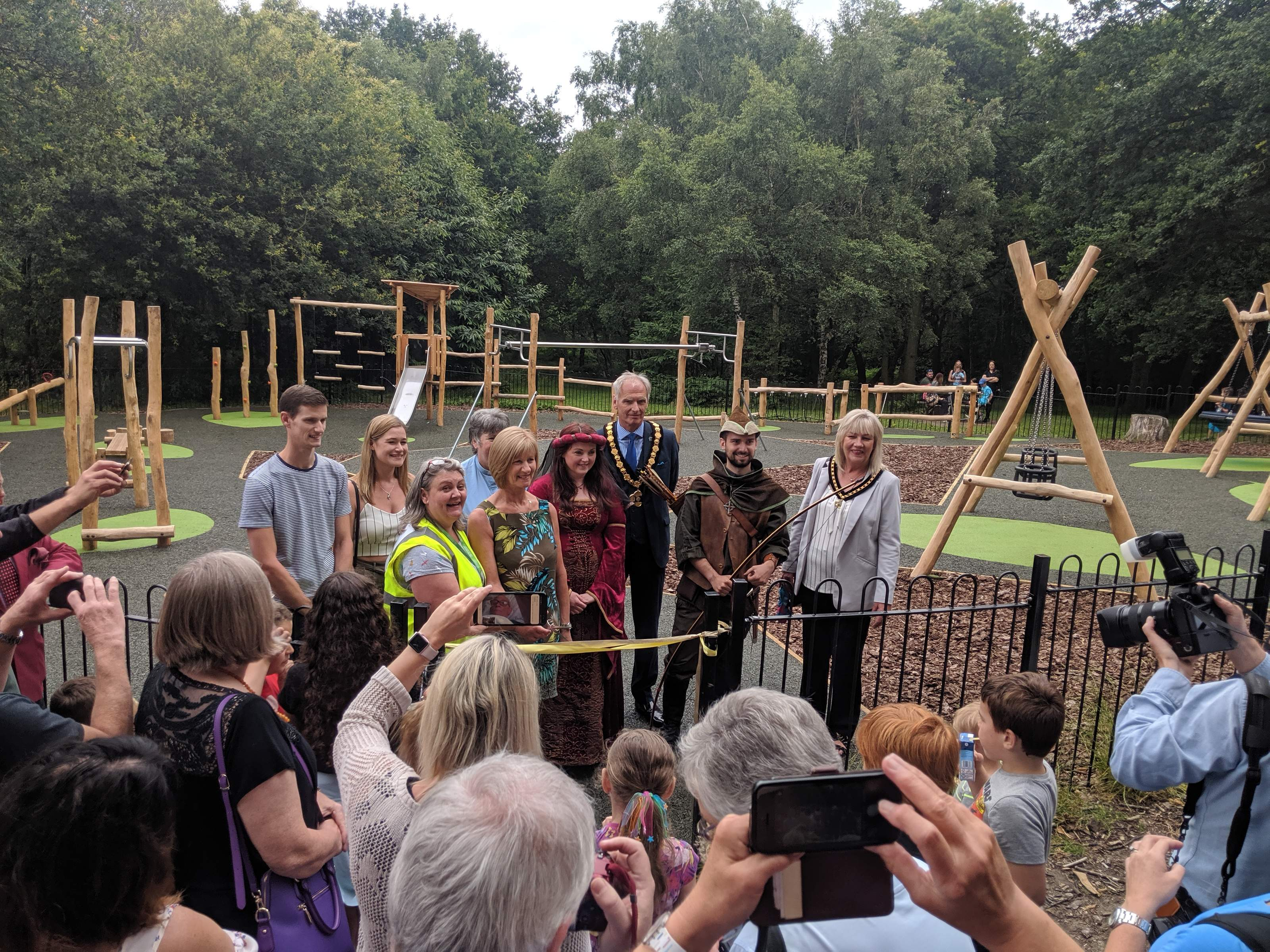 Andy's Adventure Playground Reopening