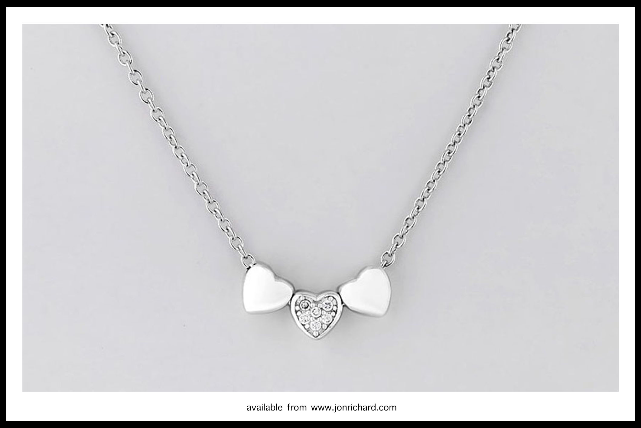 925 silver hearts necklace from jonrichardcomjpg