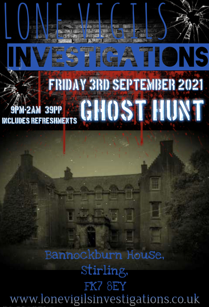 Bannockburn House Friday 3rd September  2021