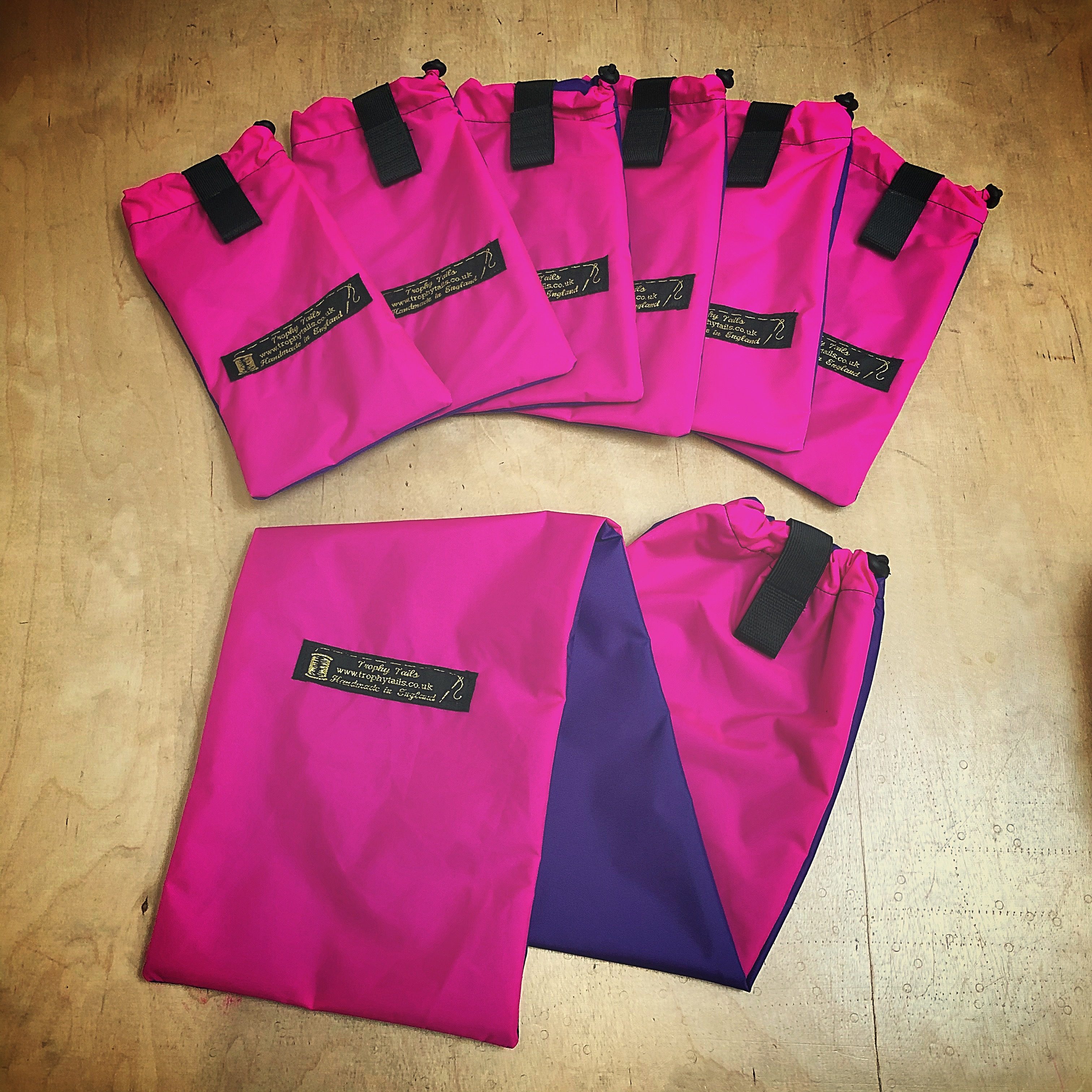 Trophy Tails Waterproof Mane Bags and Tail Bag - Mix N Match Two Colours