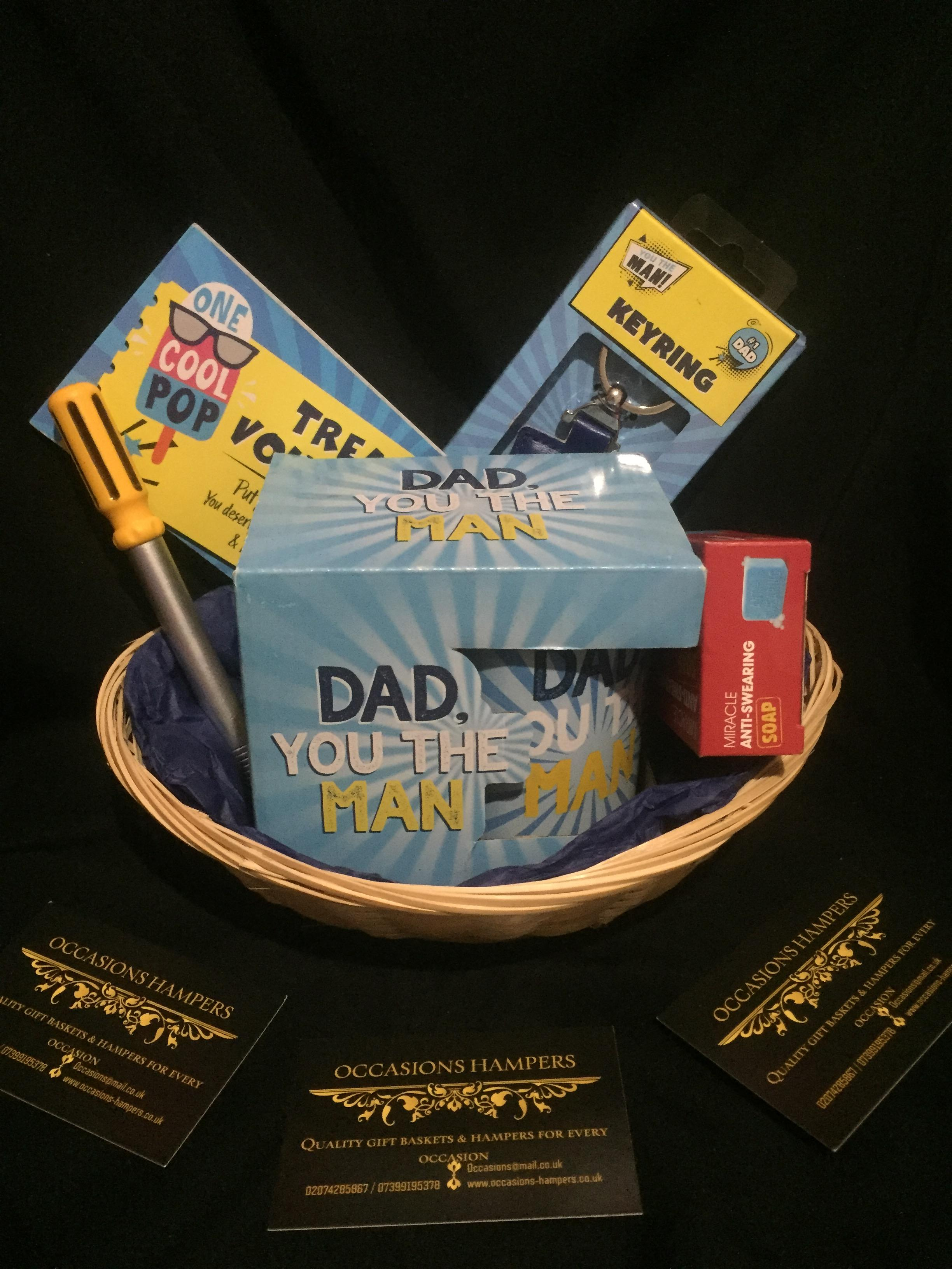 Dad Gift Basket #1