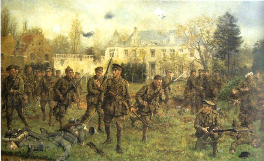 Worcestershire Regiment at Ghevluvelt 31 Oct 1914 Worcestershire Regiment Museumjpg
