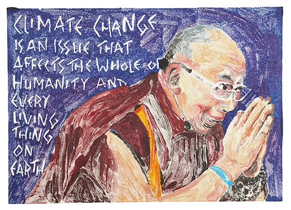 Dalai Lama on Climate Change