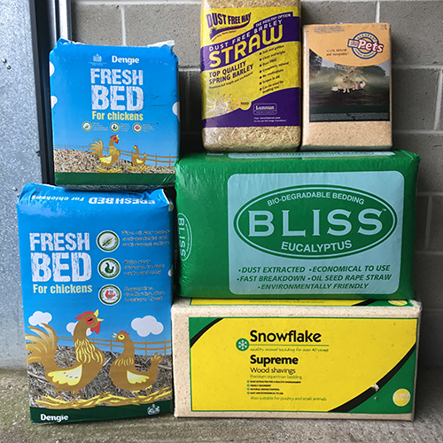 Chicken Run & Bedding Materials