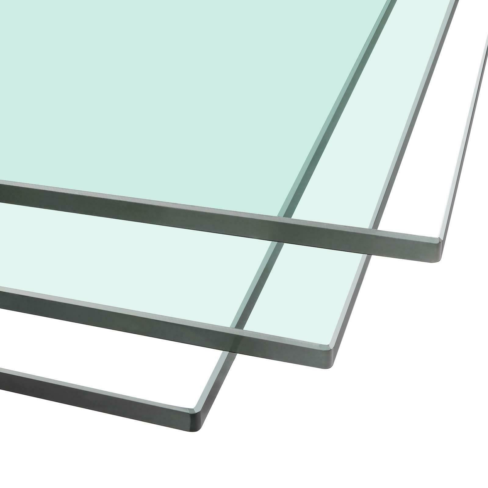 100cm x 60cm CE Certified 10mm Clear Toughened Safety Glass