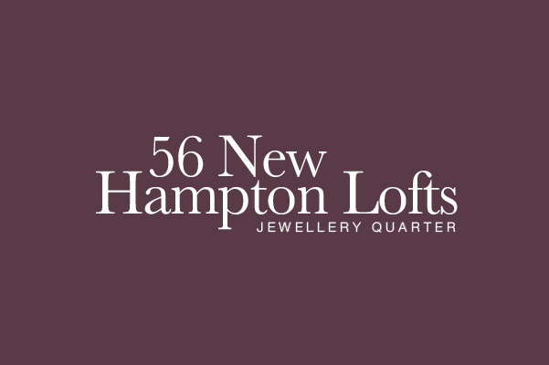 56 New Hampton Lofts based in the Jewellery Quarter in Birmingham Logo Design.