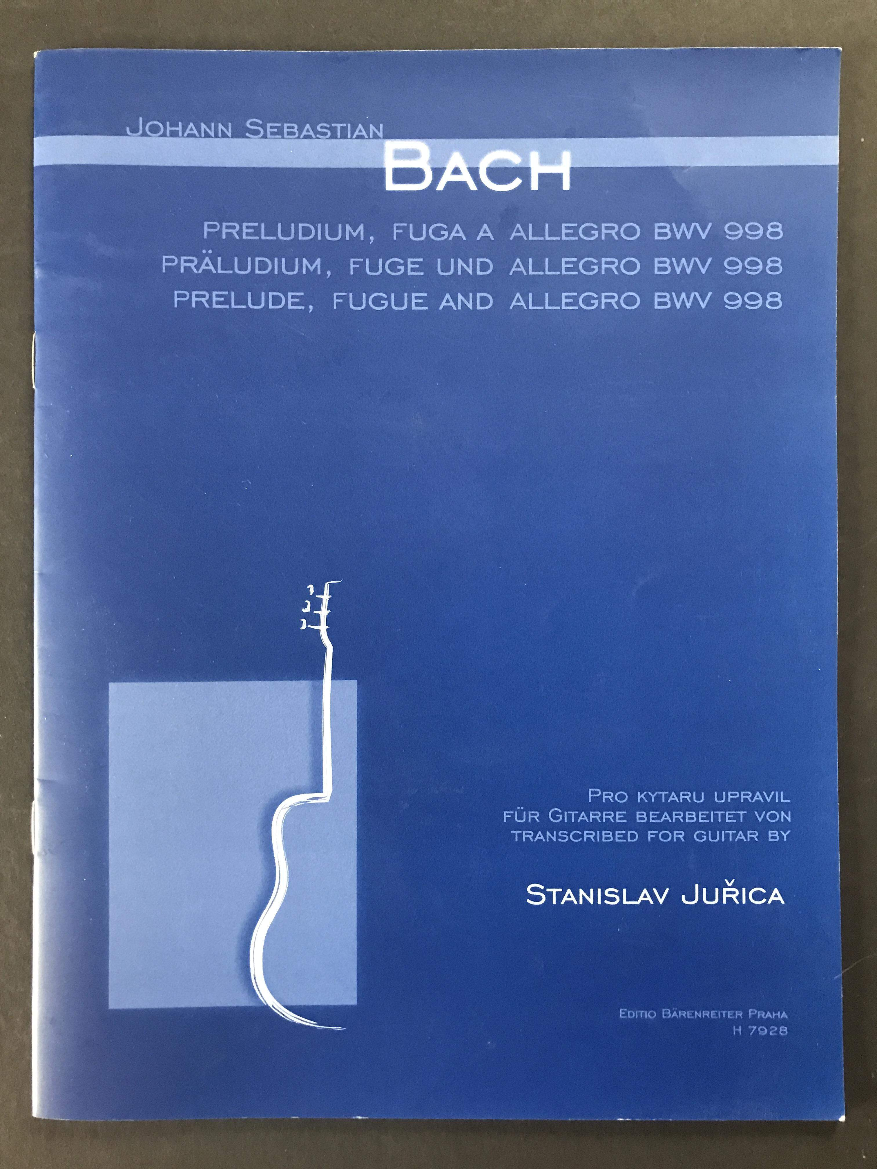 Prelude, Fugue & Allegro by J. S. Bach