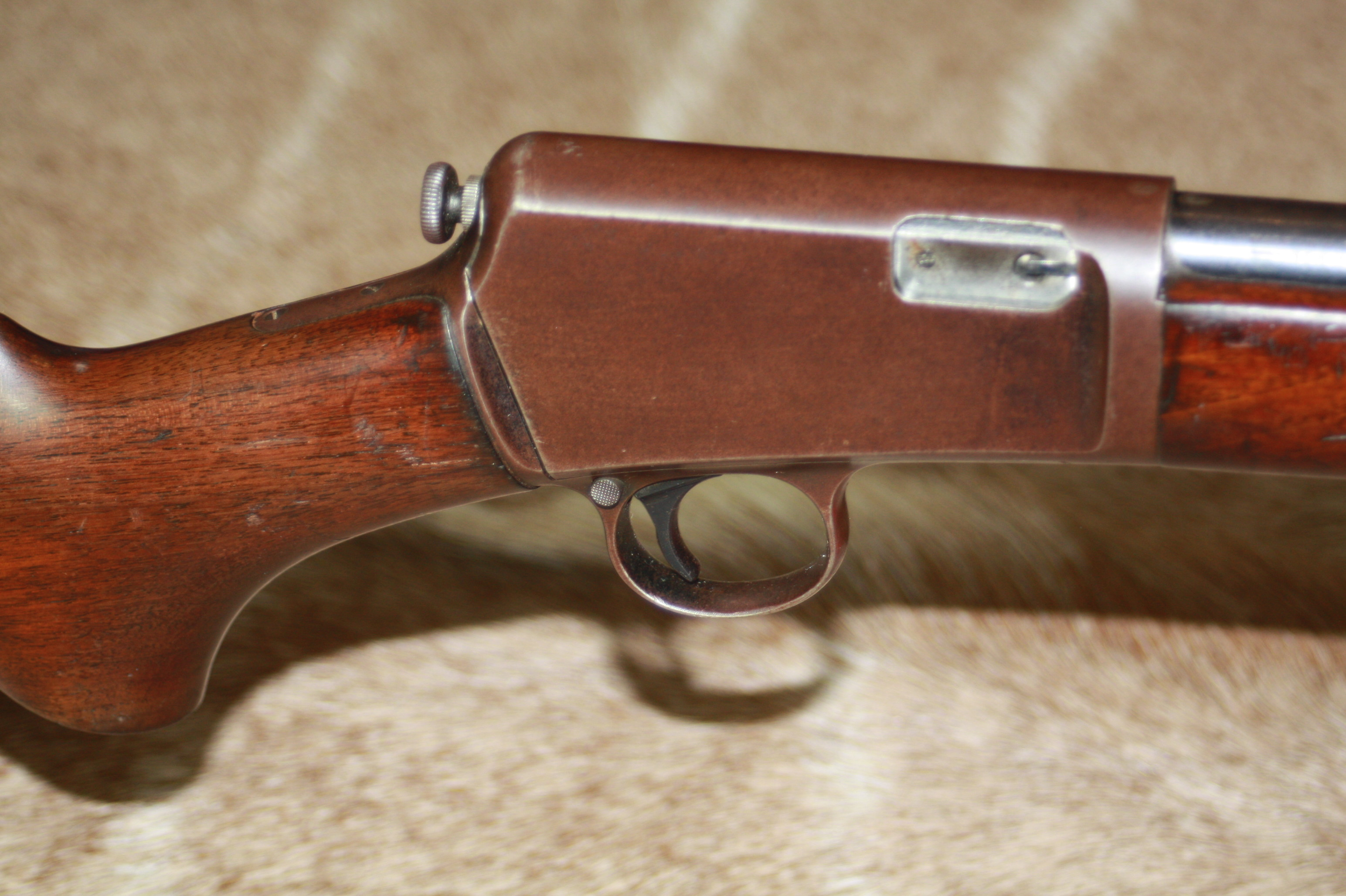 WINCHESTER .22 L.R. 'MODEL 63' SELF-LOADING SPORTING RIFLE