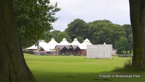 Picture of cricket pavilion
