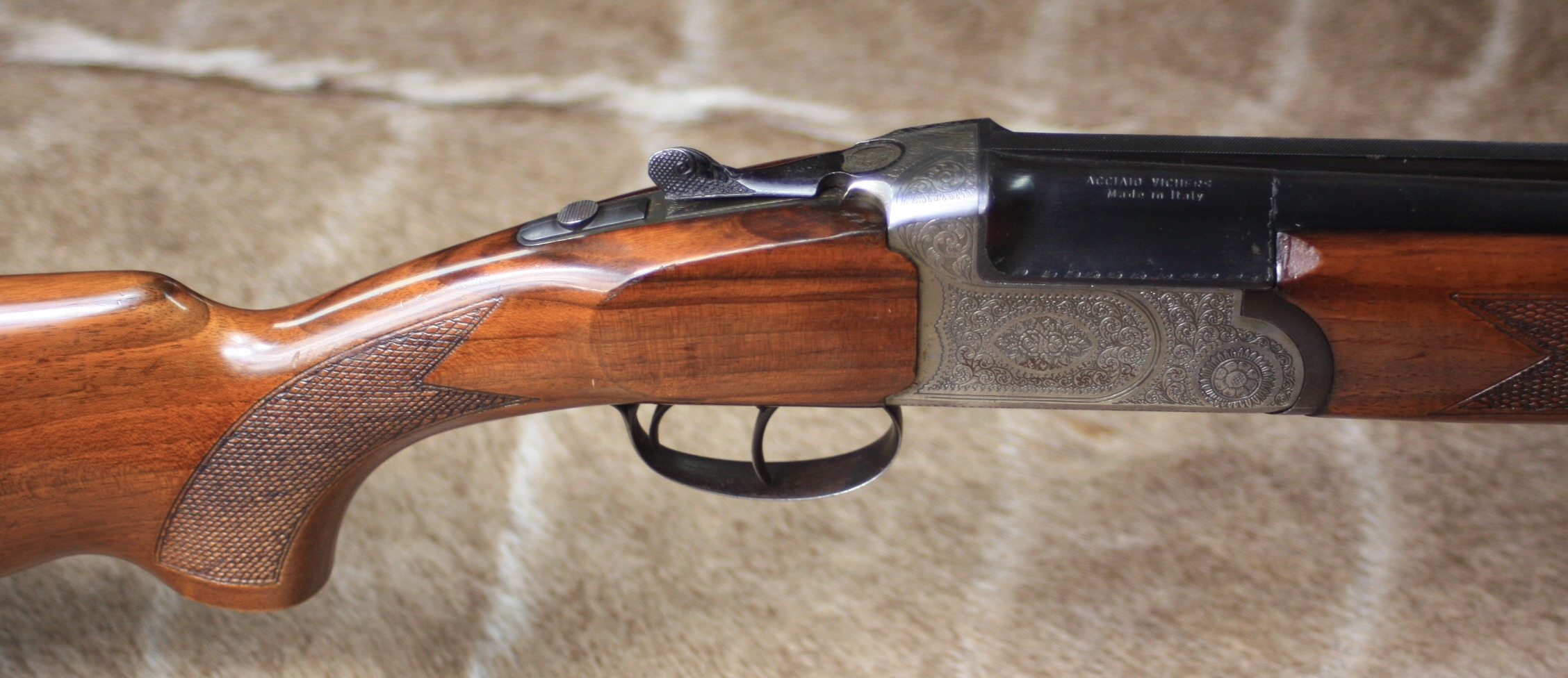 ITALIAN 12-BORE DOUBLE-TRIGGER OVER AND UNDER NON-EJECTOR