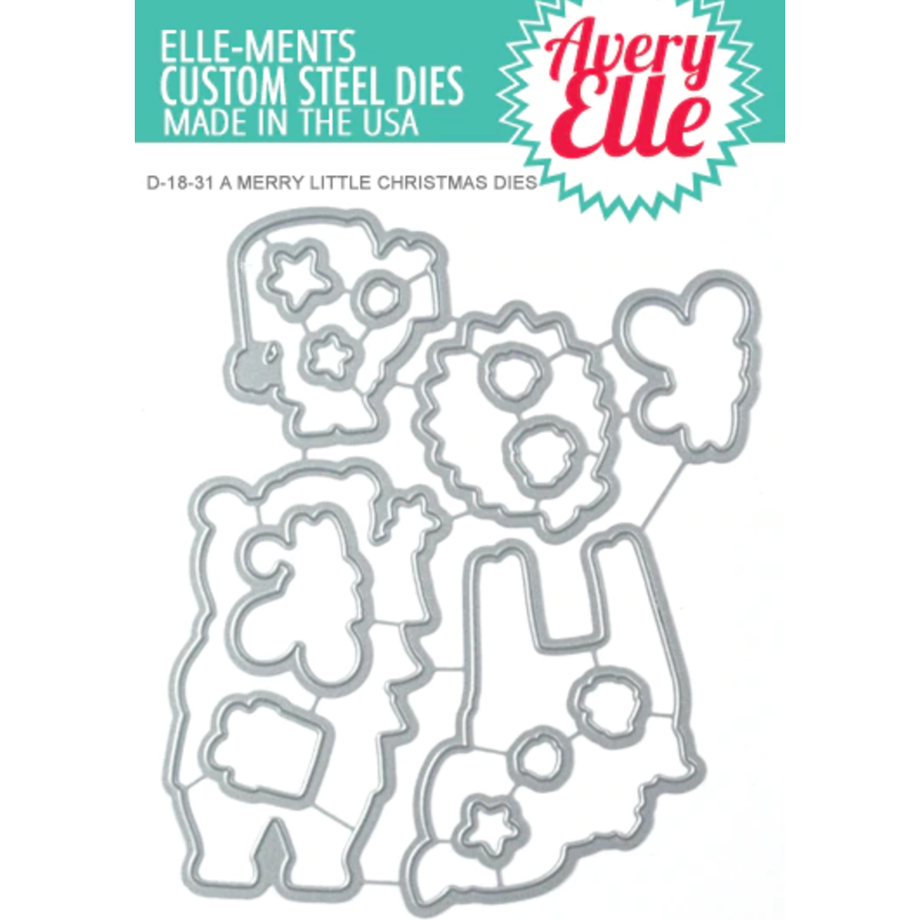 Elle-Ments  - A Merry Little Christmas die