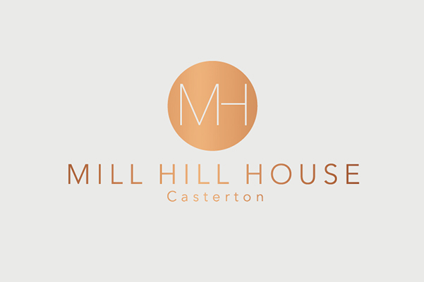 Mill Hill House Bespoke Logo Design.