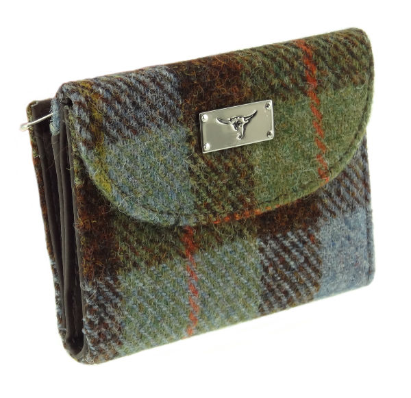 Harris Tweed 'Jura' Purse in Colour 15 GA014