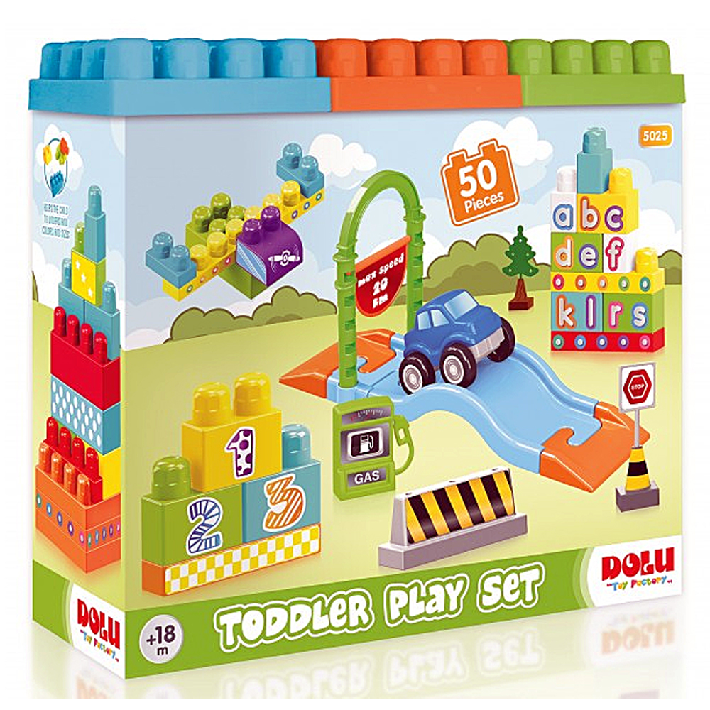 50 Piece Toddler Play Set