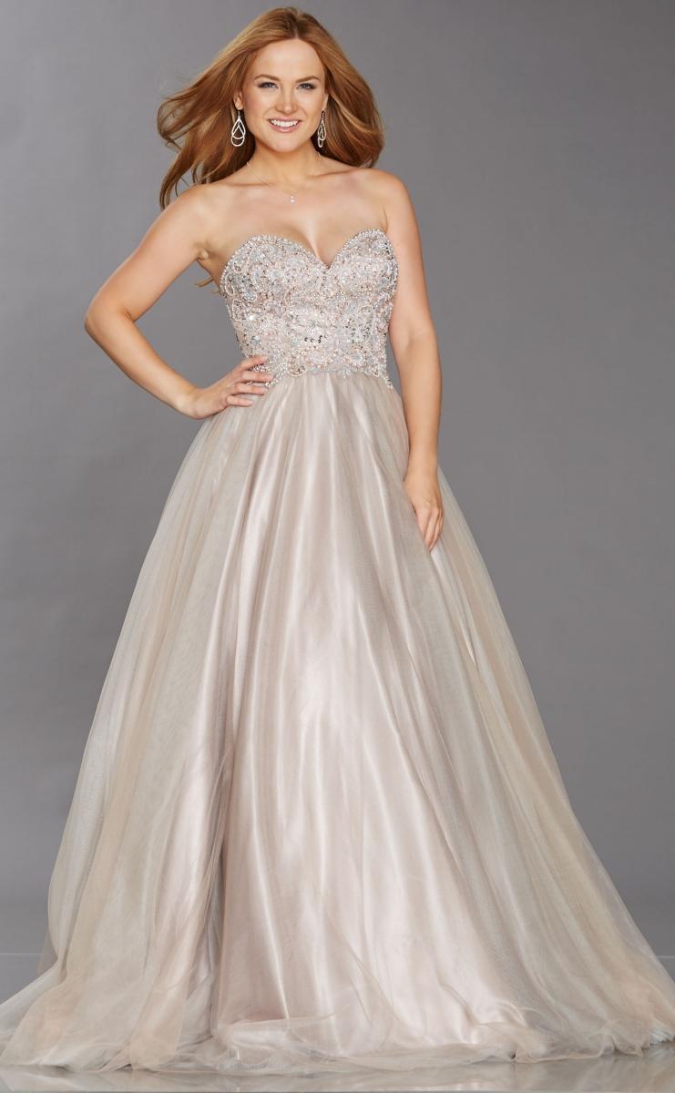 0dcbd2e688 Illusion Prom Dresses By Tiffanys