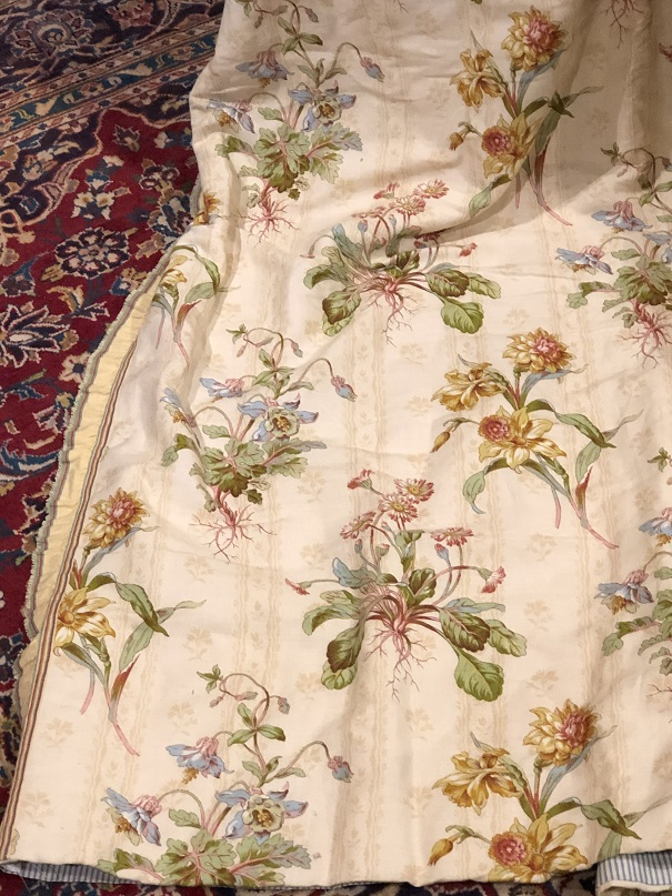 Zoffany Spring Flowers Pencil Pleat Curtains W130 D229