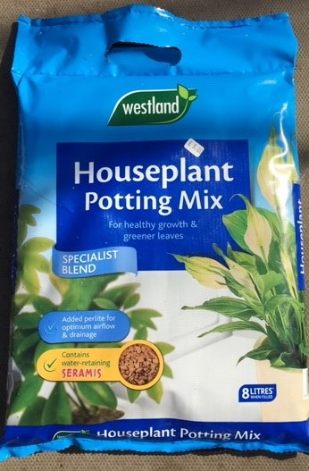 Houseplant Compost 8 Ltrs £5.00