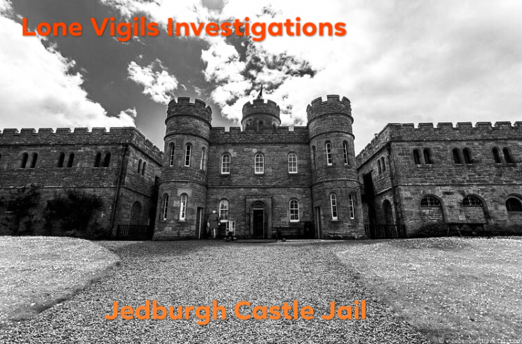 SOLD OUT: 12 HOUR LOCKDOWN JEDBURGH CASTLE JAIL FRIDAY 13TH DECEMBER 9pm-9am