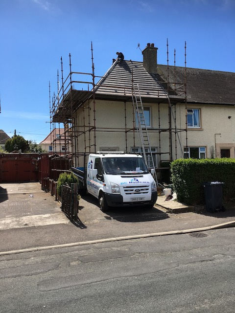 New roof installation complete in Troon, North Ayrshire