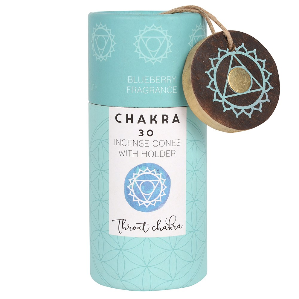BLUEBERRY THROAT CHAKRA INCENSE CONES