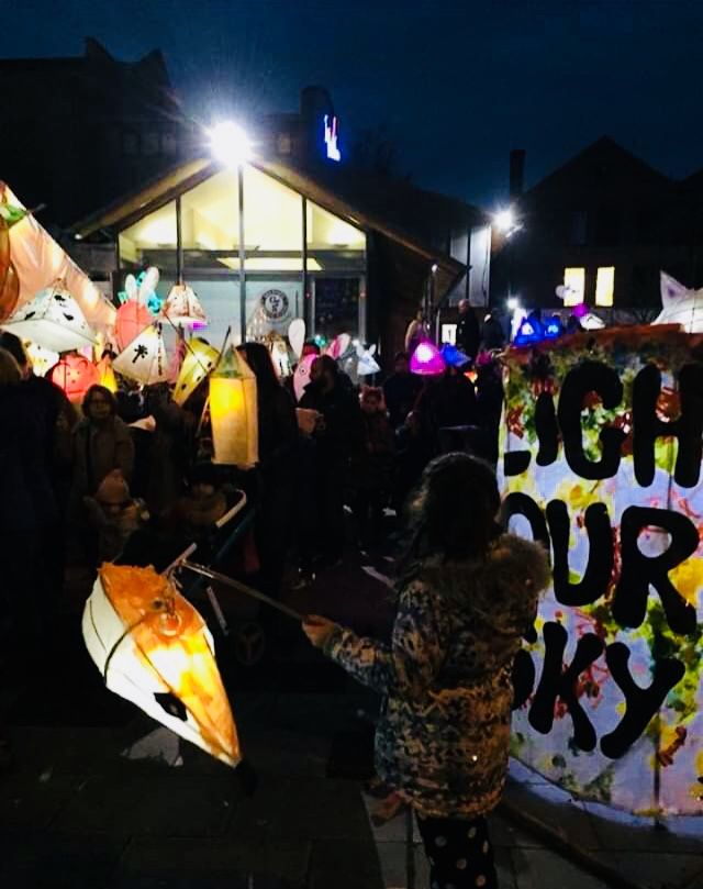 Light our Sky Lantern Procession