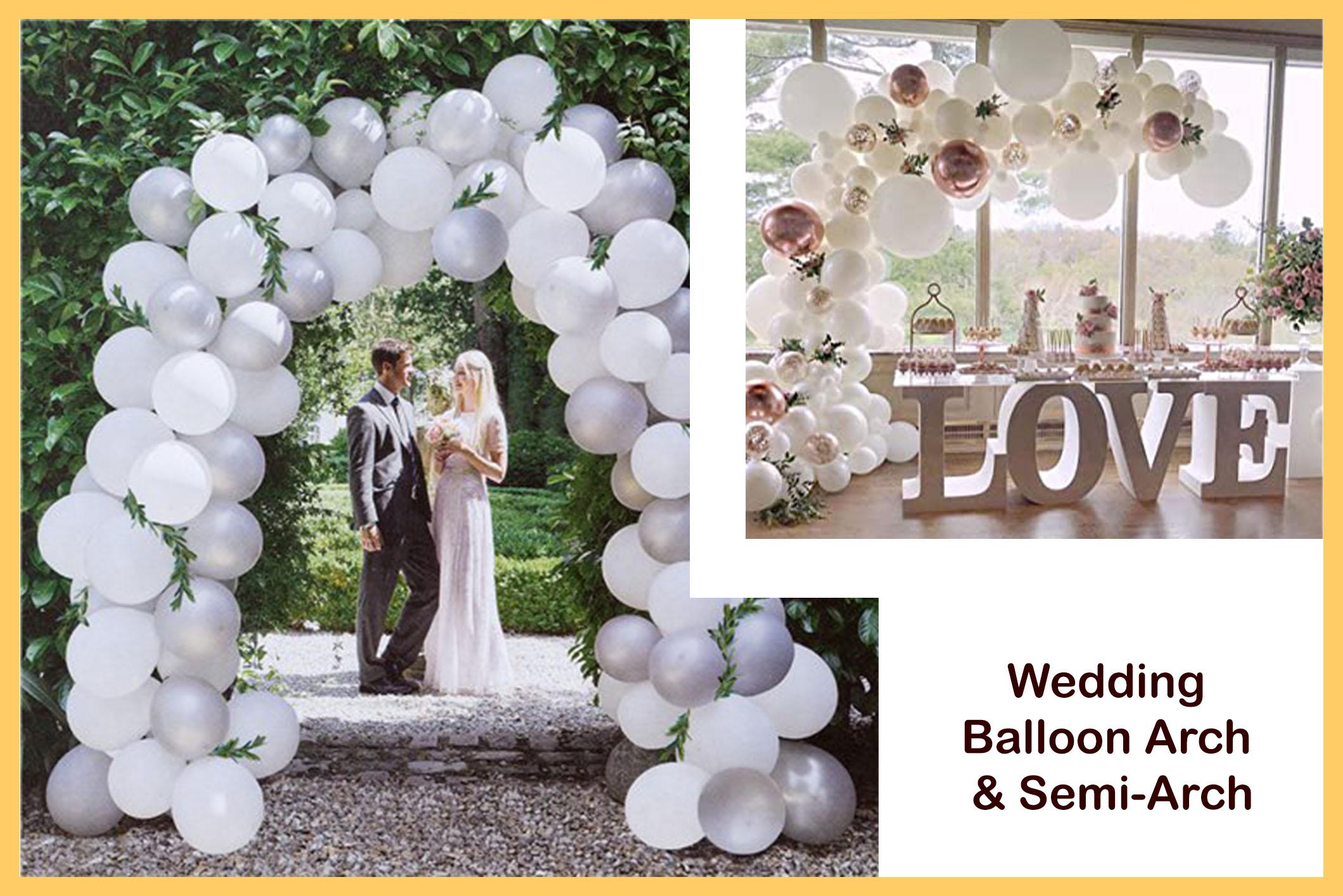 Wedding Props - Balloon Archesjpg