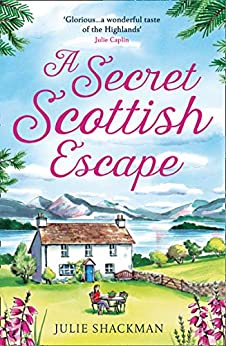 Cover reveal for A Secret Scottish Escape