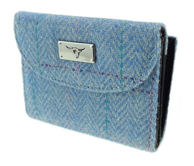 Harris Tweed 'Jura' Purse in Colour 65 GA015