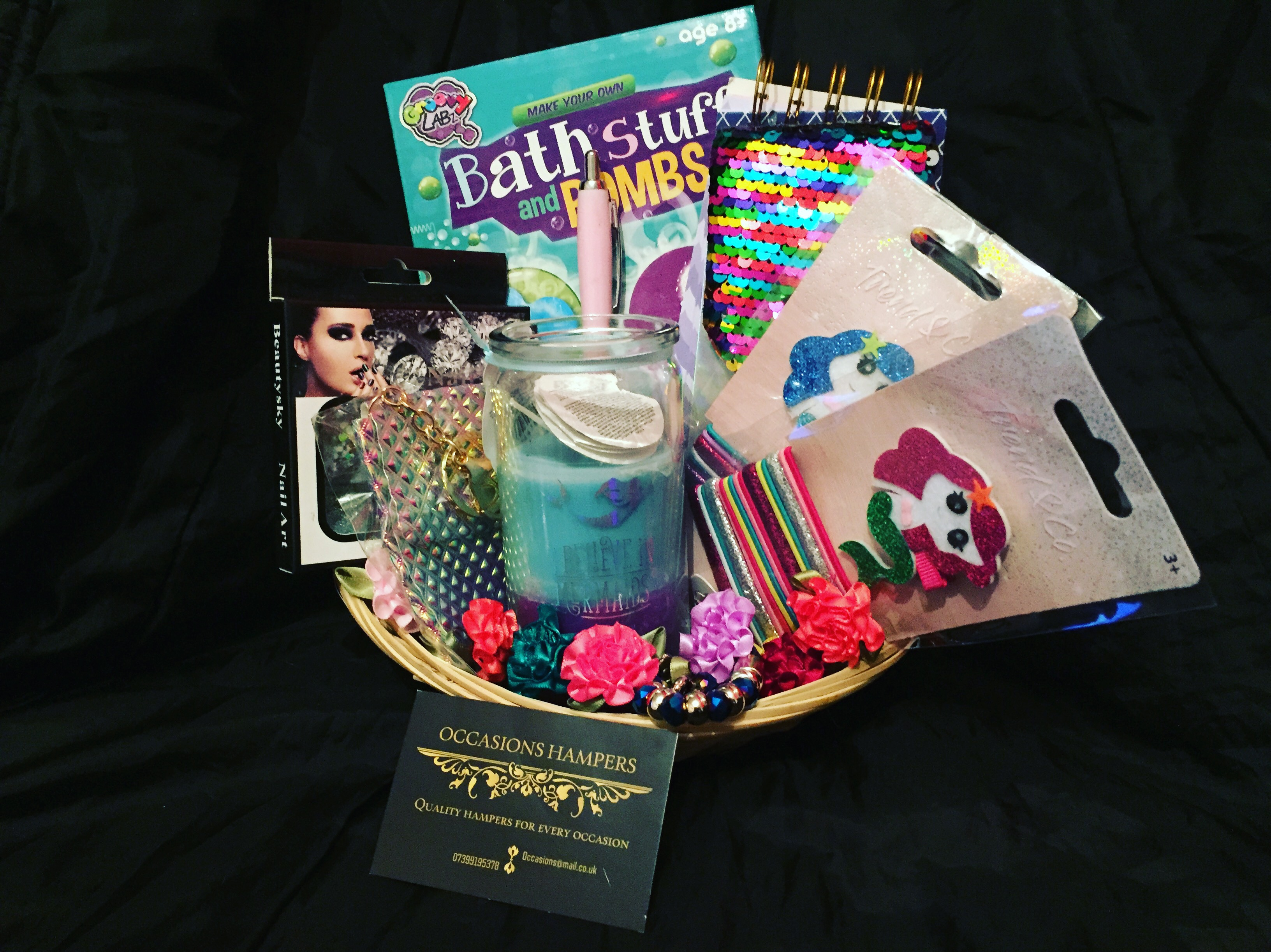 Mermaid Fan Mega Gift Baskets