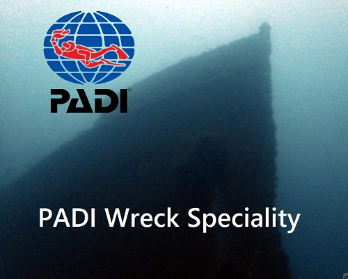 Padi Wreck Diver Speciality