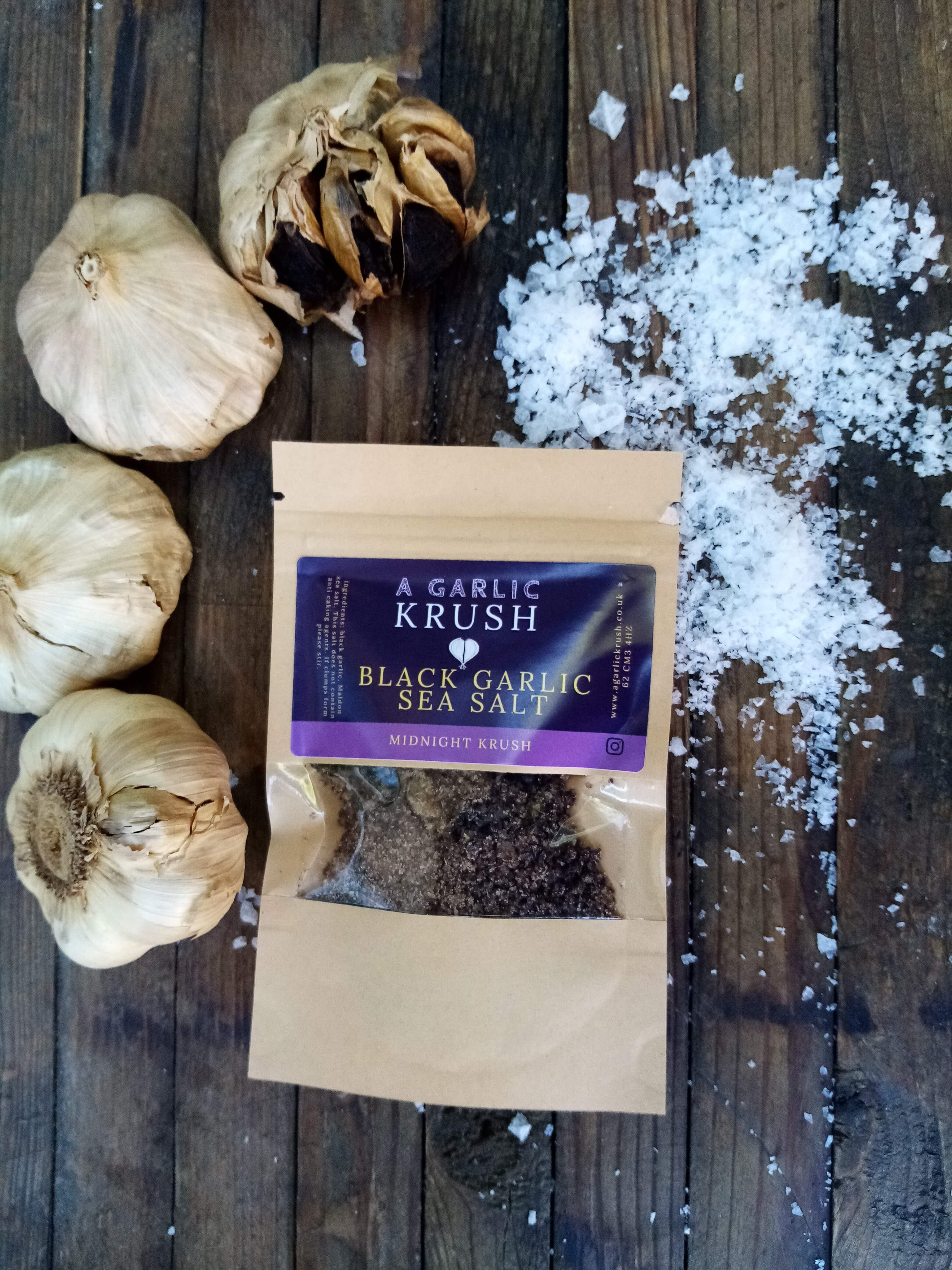 Garlic seasoning taster pack