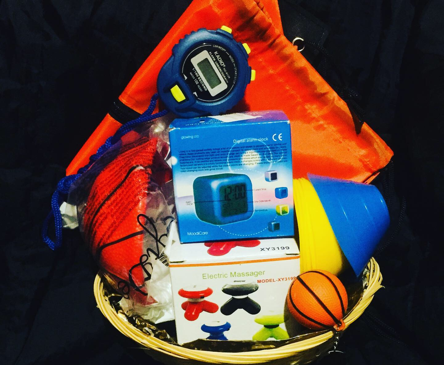Aspiring Basketball Player Gift Basket