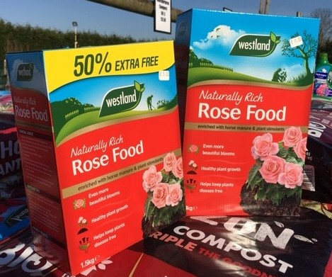 Westland Granular Rose Food