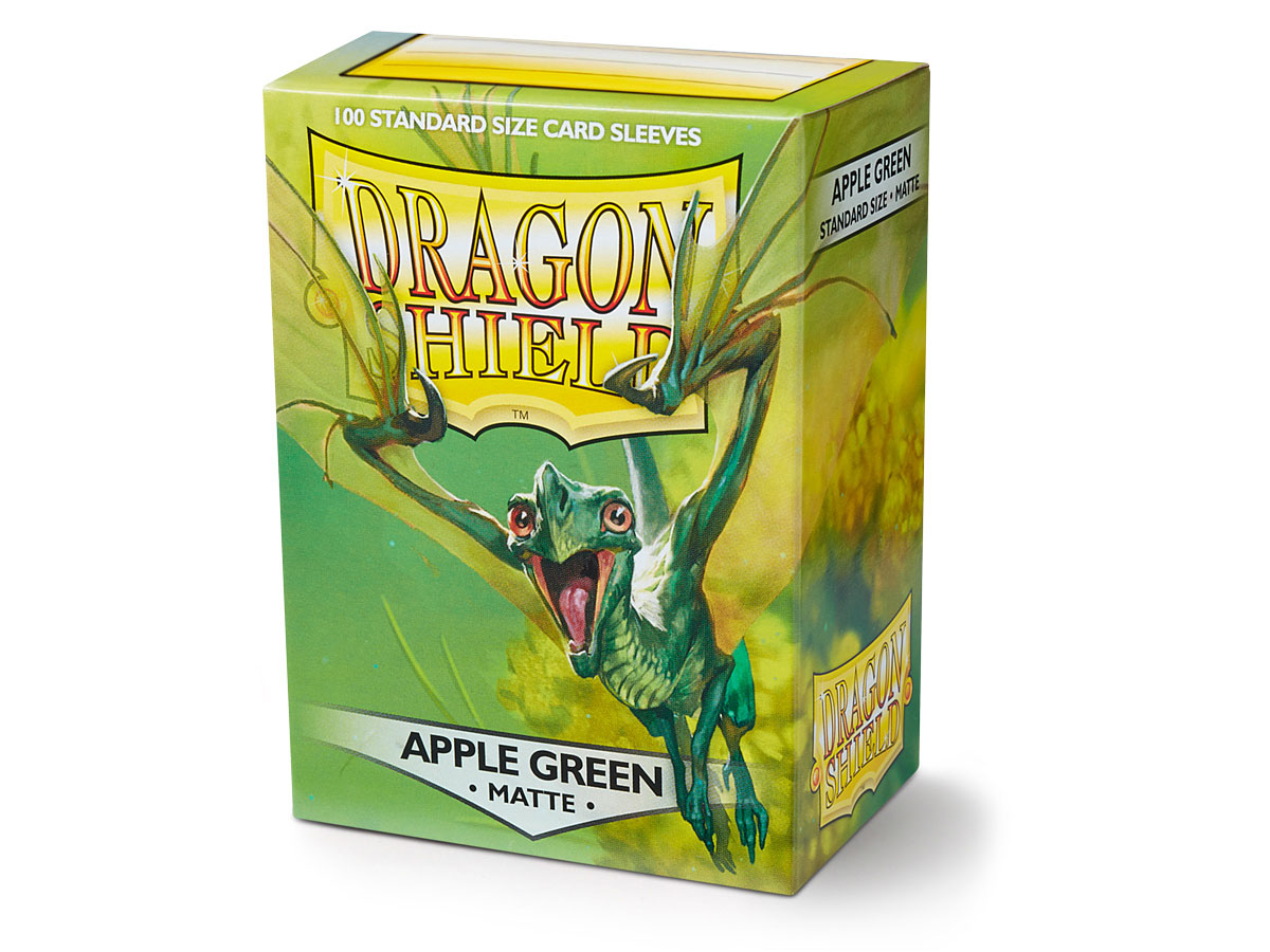 Dragon Shield Apple Green Sleeves (100 ct.)