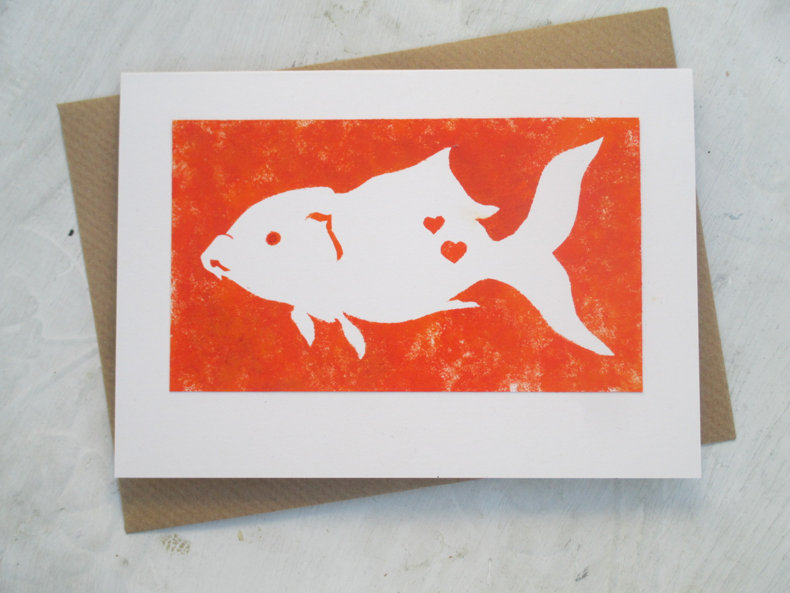 Fish Card by Alex Agg Design