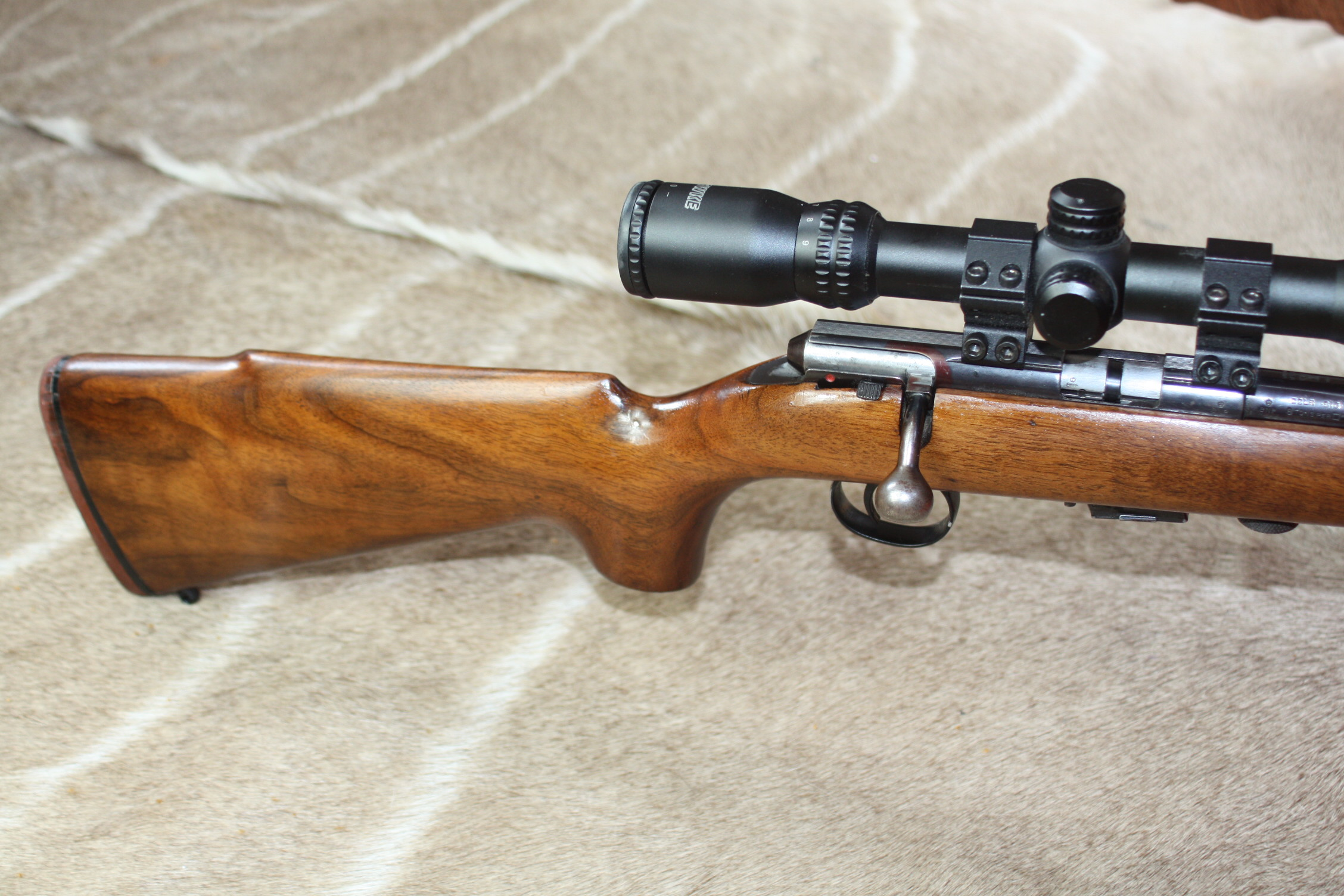 B.S.A. Supersport Five .22 LR Bolt Action Rifle