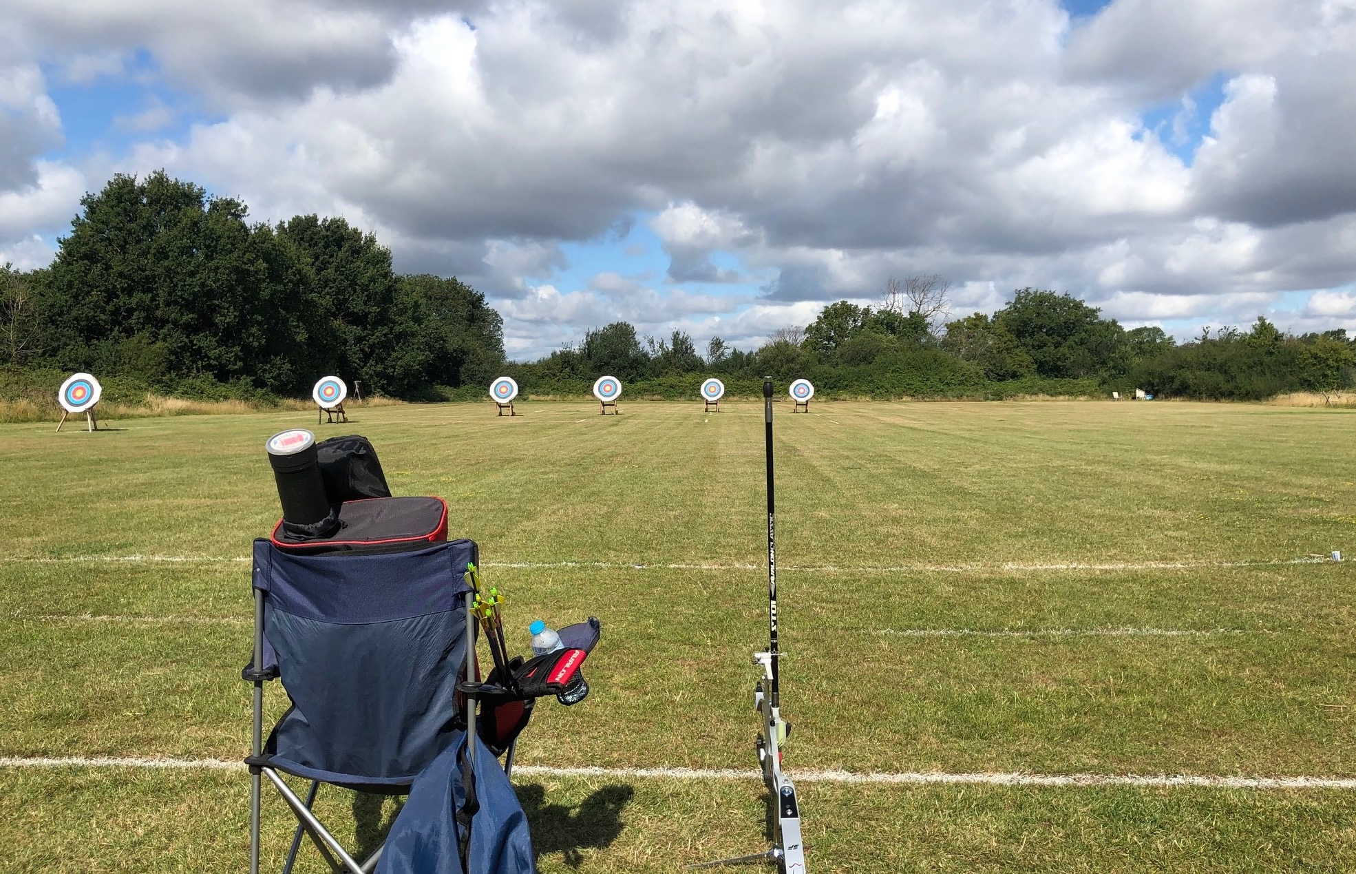 We're welcoming many archers from local clubs