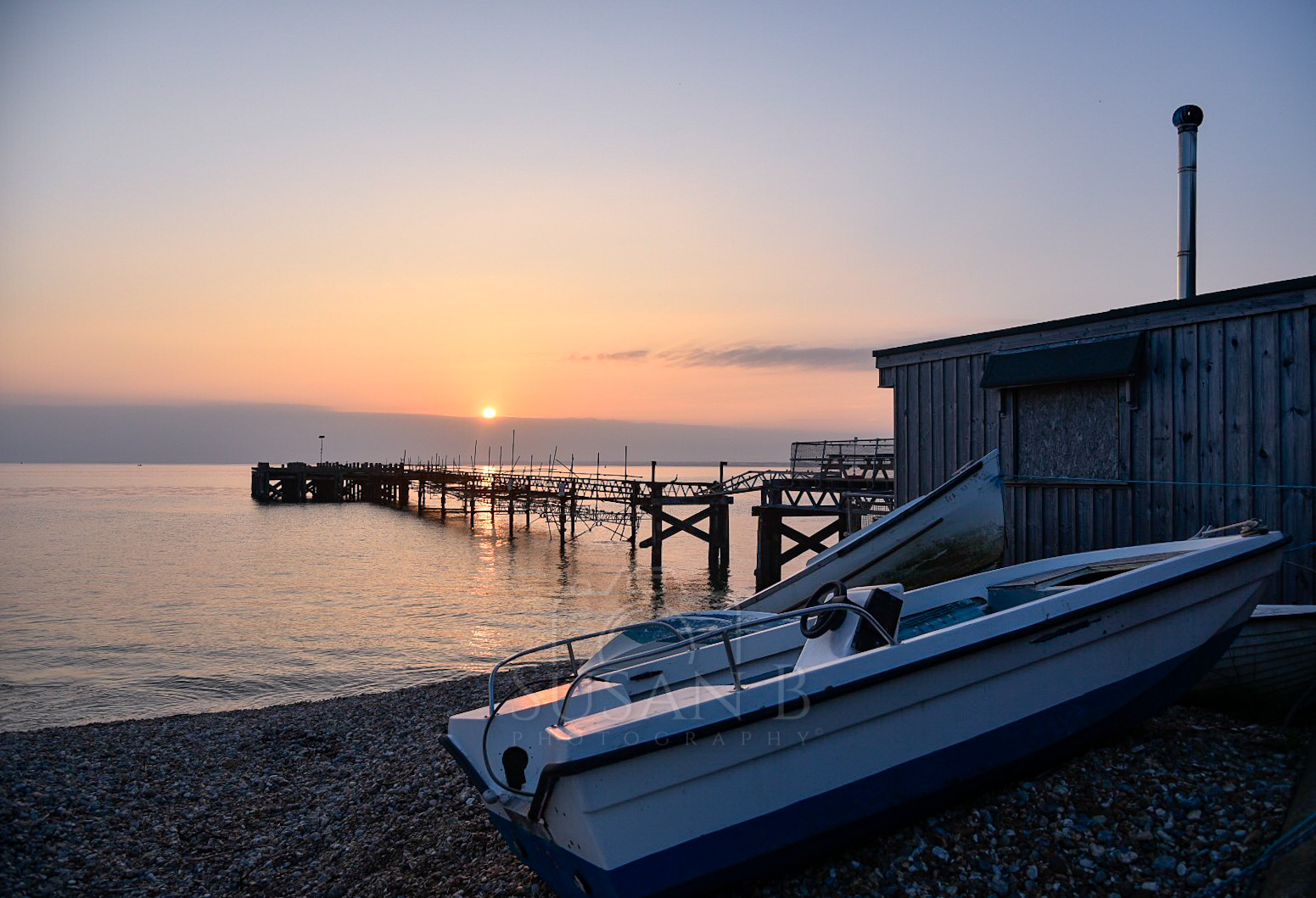 Boats at Totland Pier