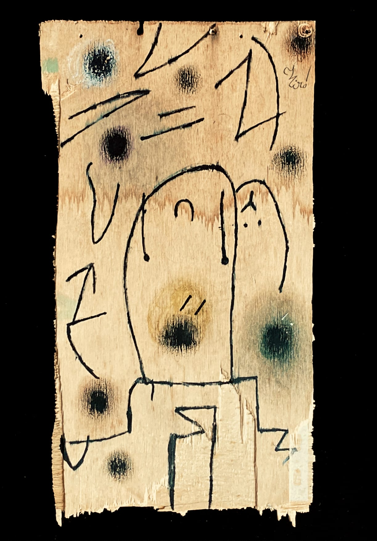 Joan Miro - Personages, Oiseau