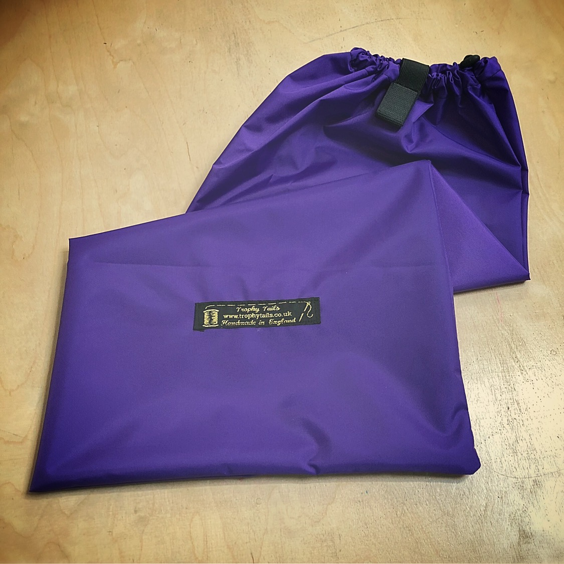 Heavy Duty Tail Bag - Purple