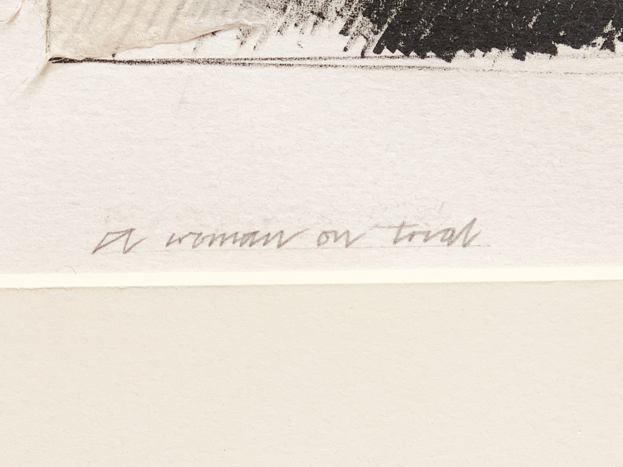 Allen Jones - Woman on Trial
