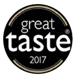 Logo of the Great Taste Award 2017 of which Annette Need of Annette's Baking in a Box is a recipient