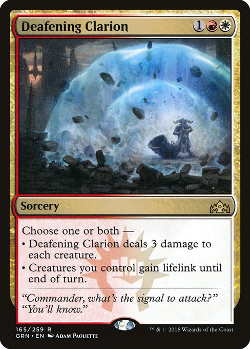Defeaning Clarion