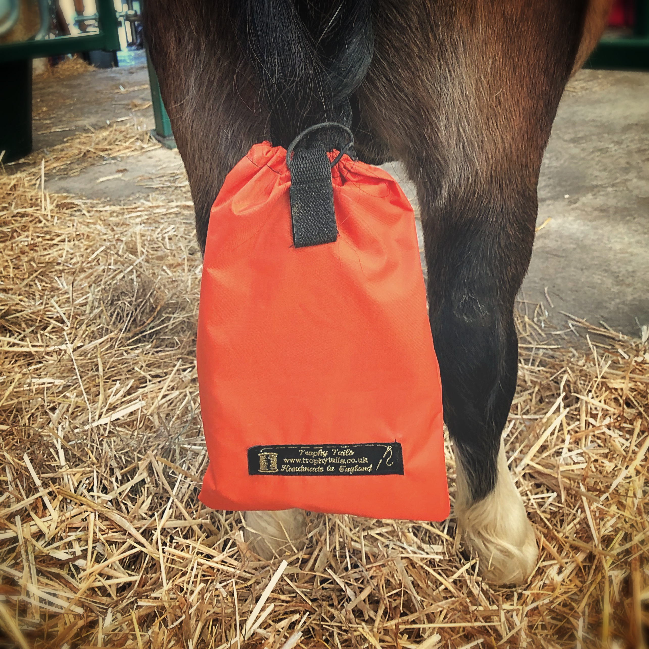 Heavy duty big cob tail bag