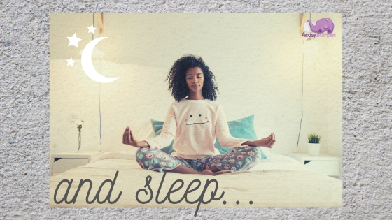 Ever wondered about the connection between meditation & sleep?
